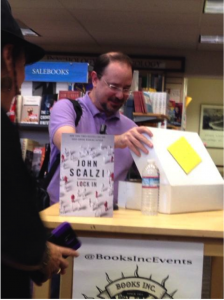 scalzi +my right ear
